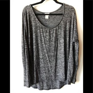 Relaxed Wet Seal Blouse.